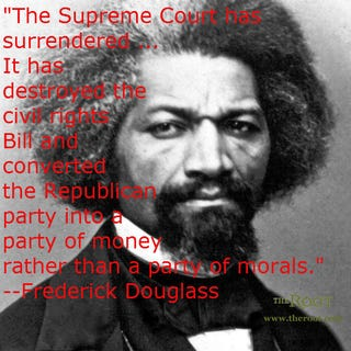Frederick Douglass (Wikimedia Commons)