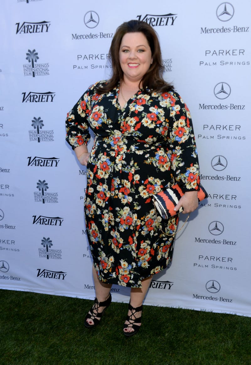 Illustration for article titled Melissa McCarthy Is Wrapped Up In A Flowery Dream