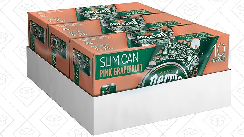 30 Cans Perrier Pink Grapefruit Mineral Water, $9 after 20% coupon