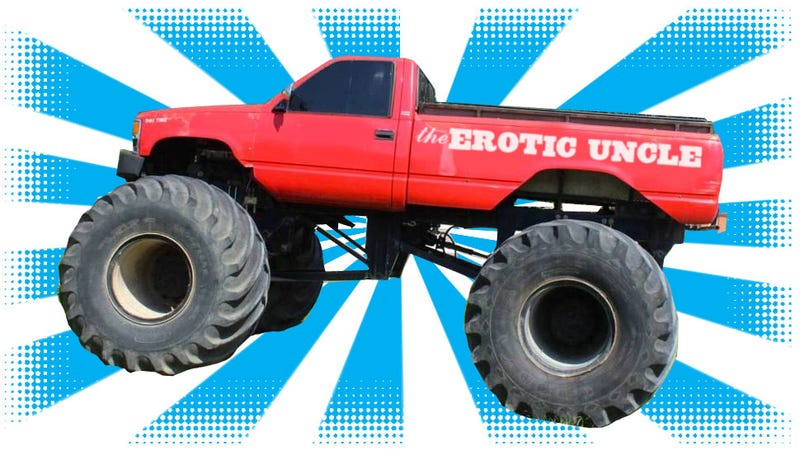 Illustration for article titled Here's Some Of The Worst Monster Truck Names Ever