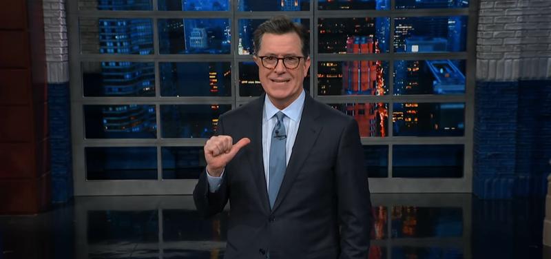 "Stephen Colbert, not ""Stephen Colbert"""
