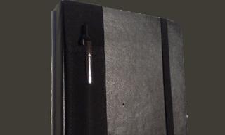 Illustration for article titled DIY Moleskine Pen Holder