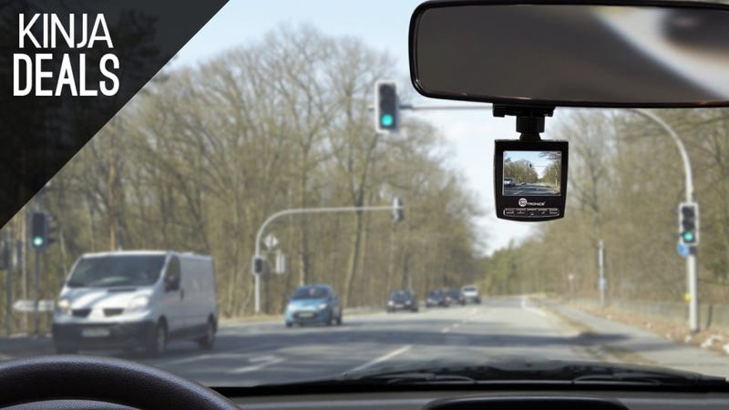 Illustration for article titled Still Don't Own a Dashcam? This One's Only $40 Today.