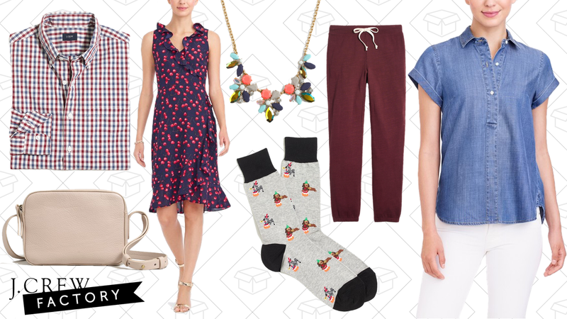 Extra 60% off sale styles | J.Crew Factory | Use code SIXTY