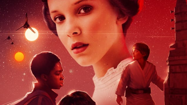 Artist Proves Stranger Things Already Has Ideal Star Wars Origins Cast