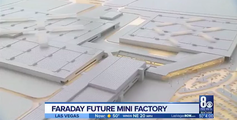 Illustration for article titled Faraday Future Plans Nevada Mini-Factory Where $1 Billion Mega Factory Is Supposed To Go