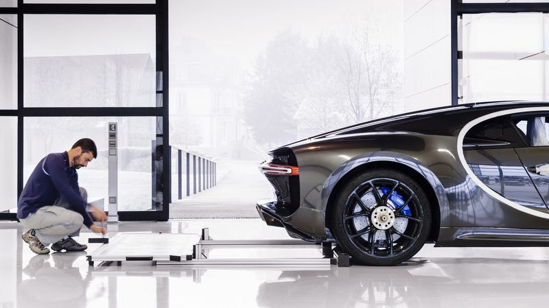 Illustration for article titled The Bugatti Chiron Is Tested On The Most Powerful Dyno In The World