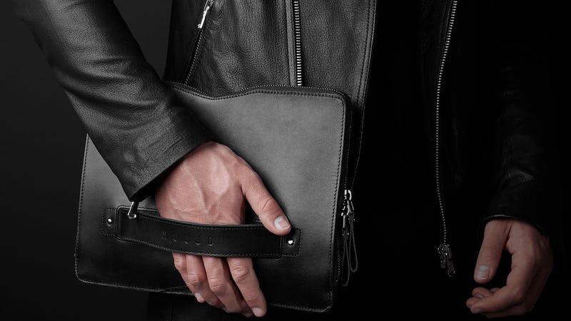 "Mujjo Carry-On Folio Sleeve for 12"" Macbook"