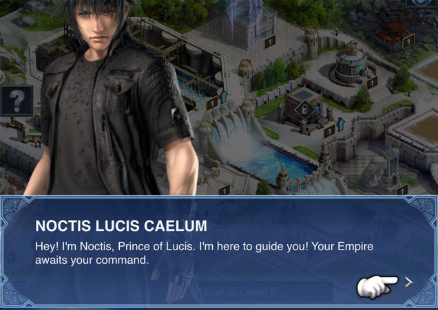 Bad New Final Fantasy XV Mobile Game Now Available