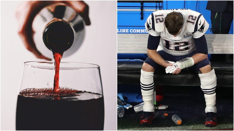 Illustration for article titled Philadelphia Eagles' Super Bowl commemorative wine has notes of plum, Tom Brady tears