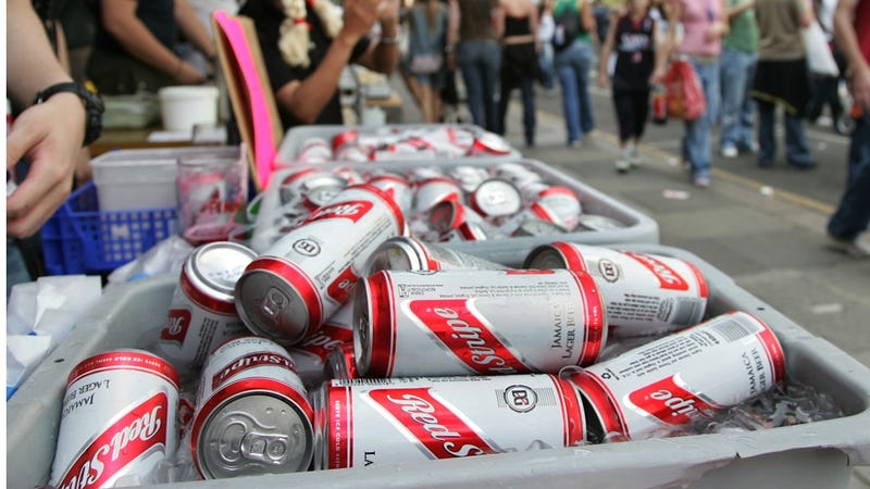 Illustration for article titled Red Stripe Criticized for Marketing Gross Soda Beer to Underage Girls