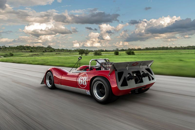 Illustration for article titled Become a '60s Speed Demon With This CanAm Lola