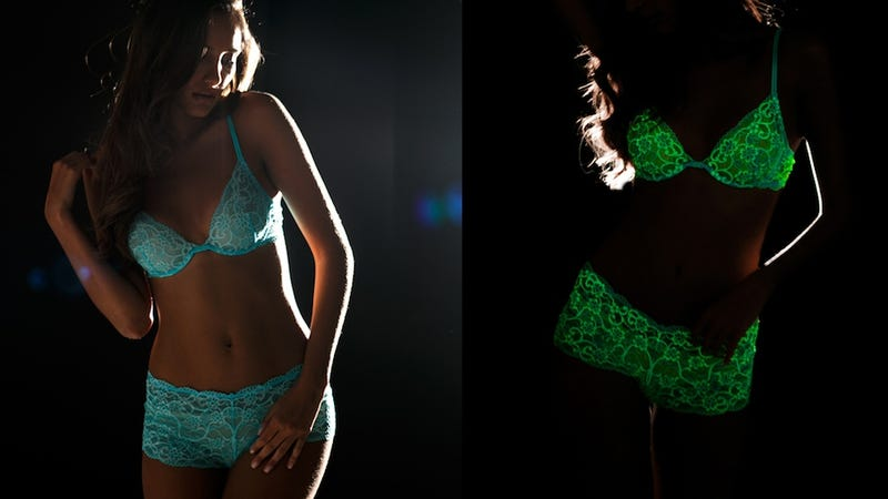 Great news if you re looking to scifi your sex life  You can now purchase  glow-in-the-dark lingerie. Yes 0ec8ffd182