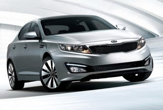 Illustration for article titled 2011 Kia Optima: The G8 Wants Its Side Vents Back