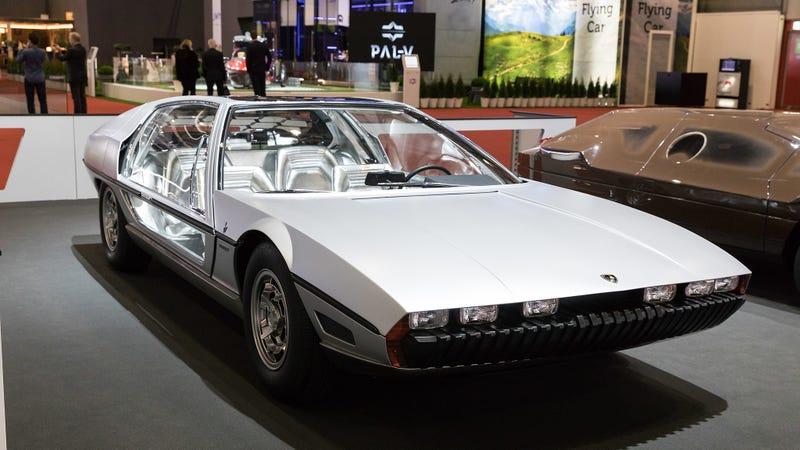 The Futuristic Lamborghini Marzal Concept Got A Second Life At Monaco