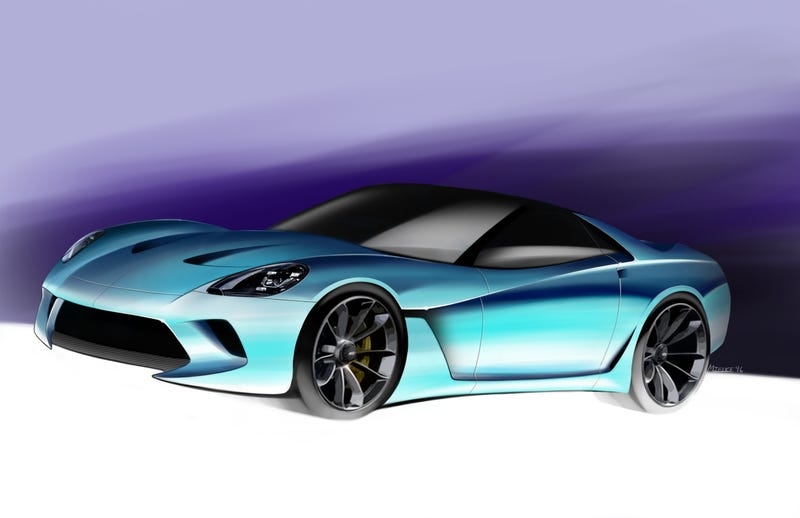 Illustration for article titled Corvette Proposal!
