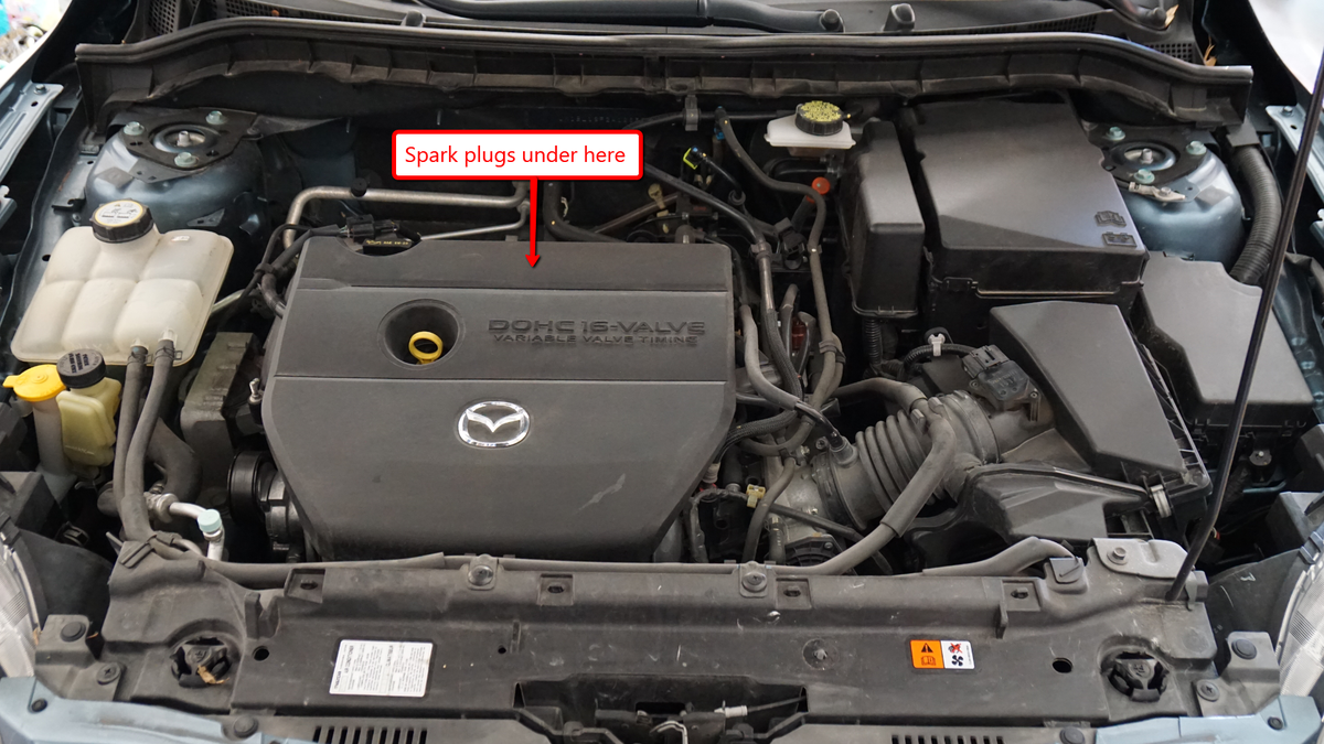 Heres How To Do A Tune Up On Modern Gasoline Car Mazda 3 Fuel Filter Change