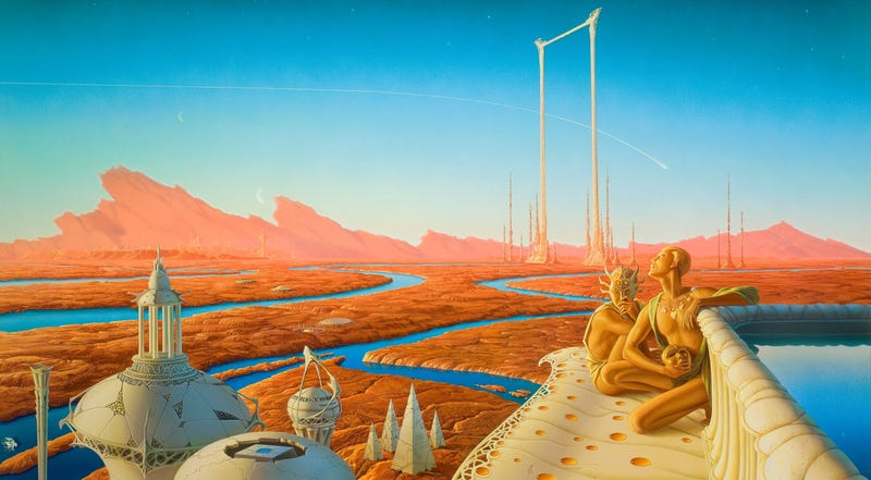 Illustration for article titled Reading The Martian Chronicles in Tehran