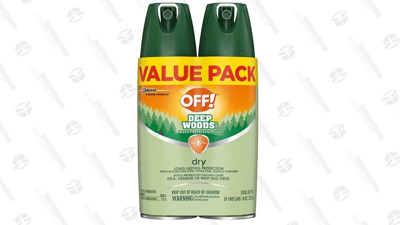OFF! Deep Woods Insect Repellent 4 oz. 2-Pack | $9 | Amazon