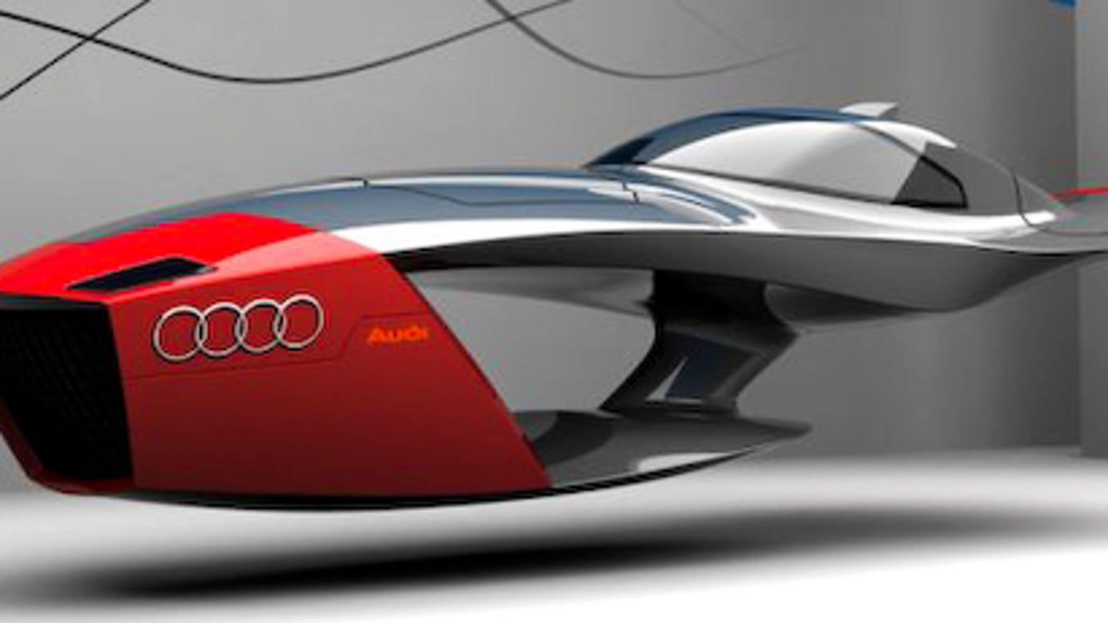 Audi Calamaro Flying Concept Car Takes Future Design