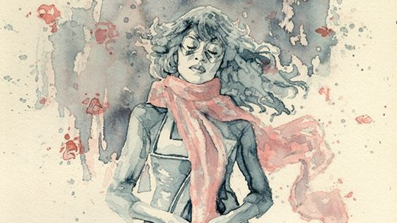Illustration for article titled This Art of Kamala Khan Isn't Just Gorgeous, It's for a Great Cause