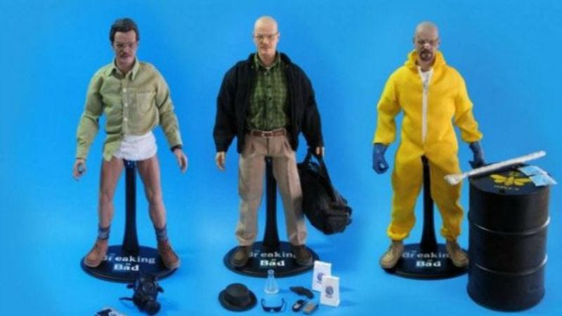 Illustration for article titled UPDATED: Toys R Us pulls Breaking Bad toys amid protests