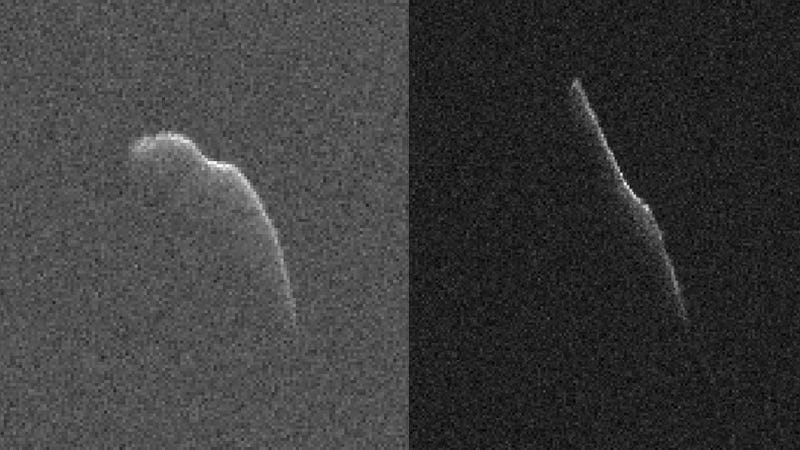 Illustration for article titled NASA Catches a Glimpse of the Christmas Eve Asteroid