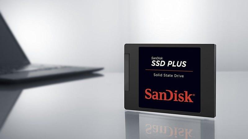 SanDisk 240GB SSD | $50 | AmazonFoto: Amazon