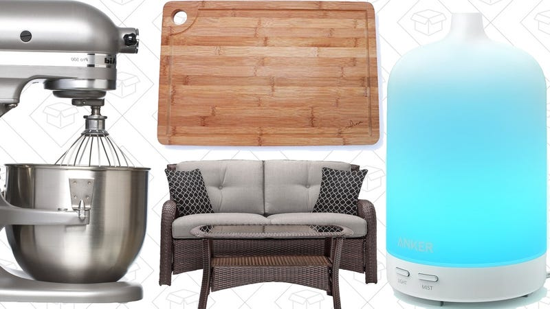 Saturday 39 S Best Deals Patio Furniture 40 Tablet Kitchenaid And More