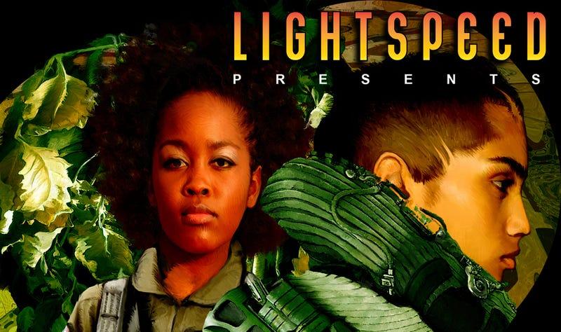 "Illustration for article titled LIGHTSPEED Presents: ""Surfacing"" by Marissa Lingen"