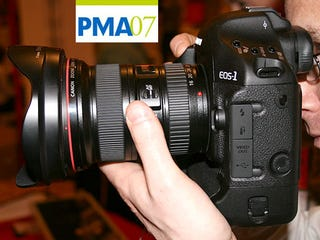 Illustration for article titled PMA 07: Canon EOS-1D Mark III Hands-On