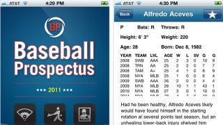 Illustration for article titled Baseball Prospectus App: The Only Fantasy Draft Prep You Need