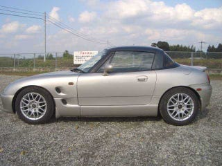 Illustration for article titled Hold The Foam -- A 1991 Suzuki Cappuccino For $10k?