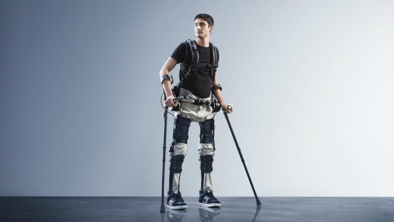 Illustration for article titled Anybody Can Buy This Exoskeleton For the Price of a Midrange Sedan