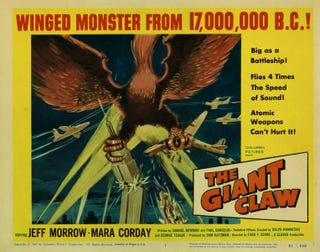 Illustration for article titled Svengoolie: The Giant Claw (1957)