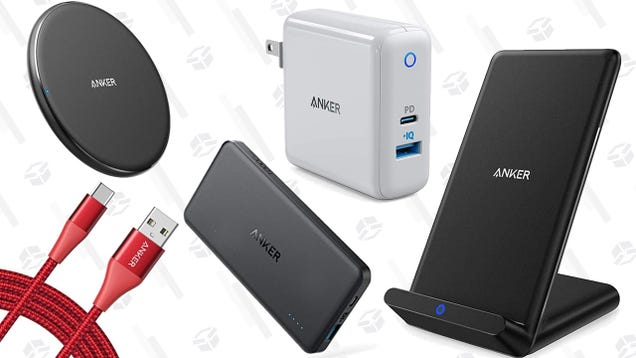 Amazon s Discounting a Bunch of Anker Charging Gear, For One Day Only