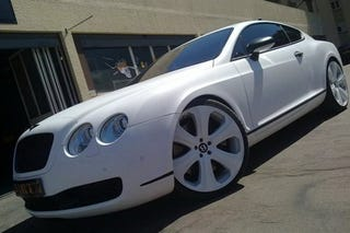 Illustration for article titled Dartz Bentley Continental GT SS