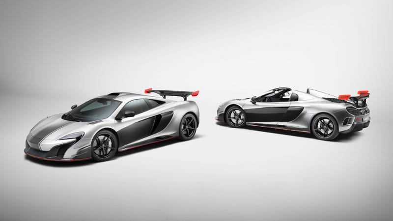 Forbidden Fruit: 650S-based McLaren MSO R Coupe and MSO R Spider