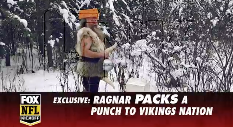 Illustration for article titled Ragnar No More Viking, Ragnar Packers Fan Now