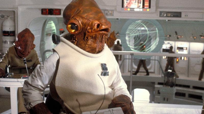 "Illustration for article titled The voice of Admiral Ackbar gives one last round of ""It's a trap!"" readings"
