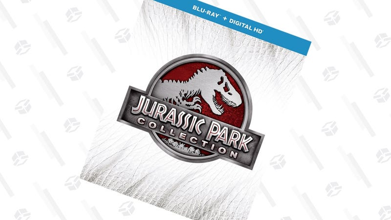 Jurassic Park Collection | $17 | Amazon