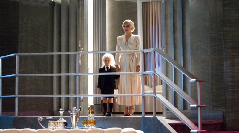 Lennon Henry and Lady Gaga in American Horror Story: Hotel, the show's fifth incarnation. Image: Doug Hyun/FX