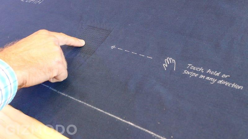 Illustration for article titled Probamos Project Jacquard: Google está fabricando tela con sensores