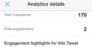 Illustration for article titled Check Out Your Twitter Analytics with the iOS App