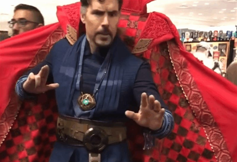 It Takes Two To Cosplay As Dr. Strange