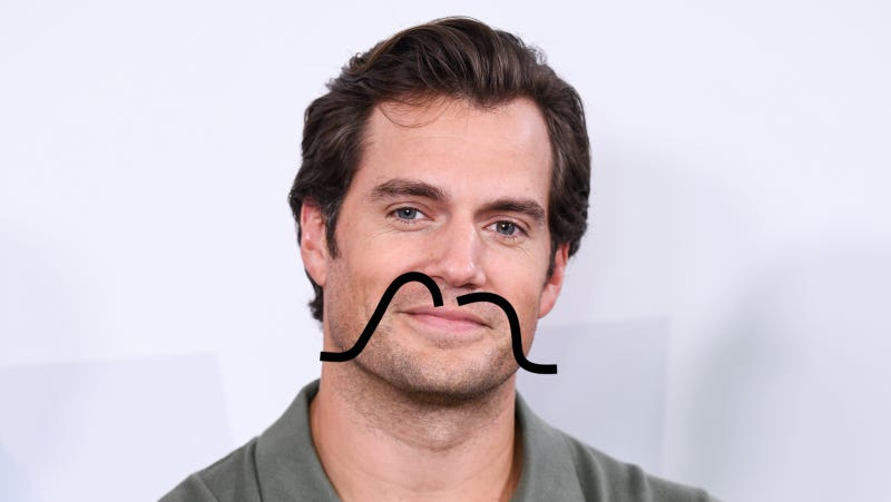Illustration for article titled Henry Cavill Should Always Have a Mustache