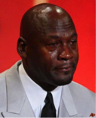 The inspiration for the Michael Jordan crying memeScreenshot