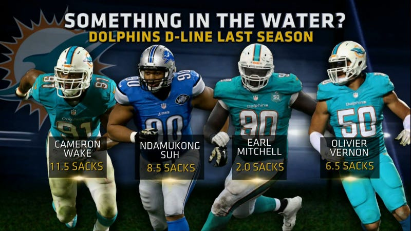 Ndamukong Suh Can't Save The Dolphins, Who Suck
