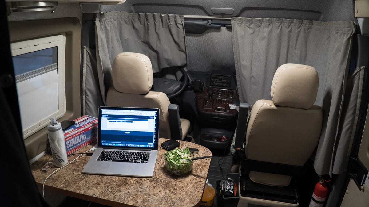 Welcome to the Connected States: Living In a Van In America