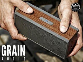 Illustration for article titled Get 10% off Grain Audio's High End BT Speaker [Last Chance]